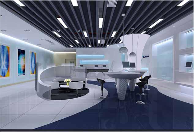 办公室装修设计注重风格的品味设计
