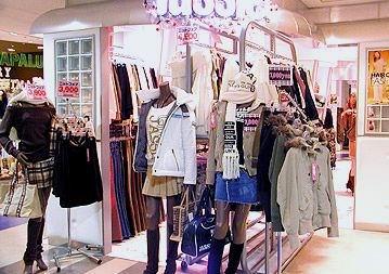 个性服装店装修实景图