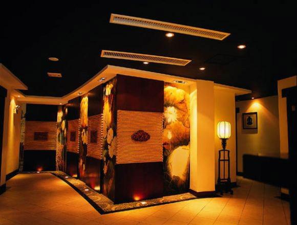 工装系列 中式茶馆茶楼整套装修效果图片