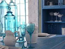 三组颜色搭配的地中海风格