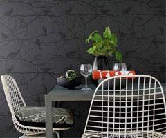 黑白壁紙秀個性 為愛家再添時尚典雅感覺