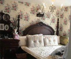 打造时尚家居 壁纸装饰卧室背景墙