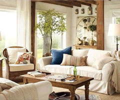 白色沙發搭配方法點亮客廳