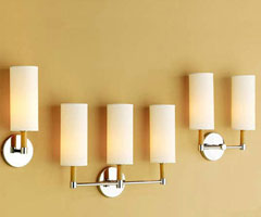雅致壁灯 提升客厅简约气息