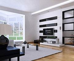 4种装修风格 营造经典色彩客厅