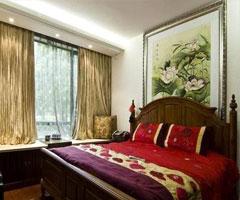 端庄秀丽、浓而不腻的中式卧室装修设计