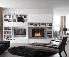 现代时尚贵族的魅力客厅装修设计 由Pari Dispari倾心打造