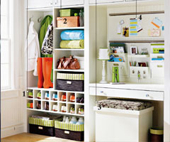 儿童房装修设计 改良玄关柜延伸实用功能