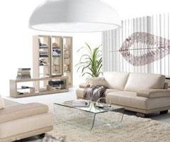 客厅流行色彩 黑白配装修设计