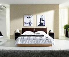 卧室装饰 卧室双人床选购