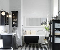 90平米的家居户型卫浴装修