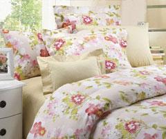 简单舒适卧室装饰 选择一款适合自己的床品