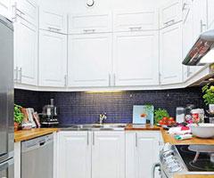 五款白色橱柜 打造一个清新时尚的纯美厨房