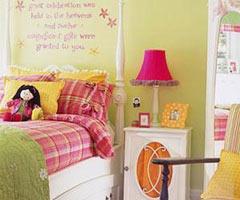 帮助儿童活跃思维的床头设计