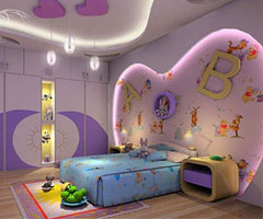 儿童房装修设计 体现出宝宝的特质