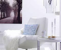 白色沙发搭出精致小户型
