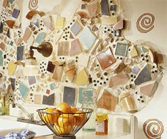 6款厨房个性背景墙设计