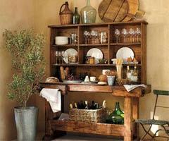实木餐边柜打造时尚餐厅