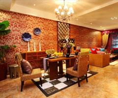 东南亚风情  巴巴娘惹餐厅风格