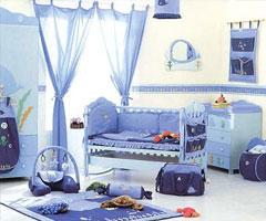 儿童房色彩多样 属于孩子们的空间