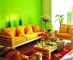居室色彩搭配方案 引领装修潮流