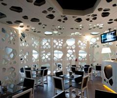 葡萄牙咖啡馆 独特造型风格