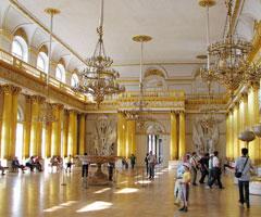 冬宫博物馆令人震撼的建筑