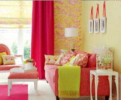 客厅装饰设计 如画般梦幻的风景