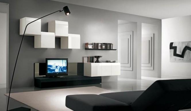 分享国外电视背景墙设计