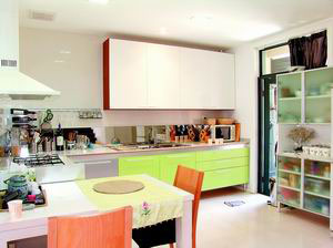 现代家居厨房的新式主义