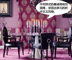 紫色温馨家居打造贵族气息
