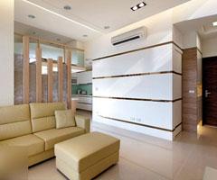 45平小户型设计  简洁淡雅家居