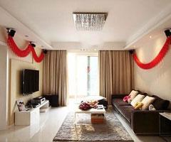 15万简约三居室温馨婚房设计