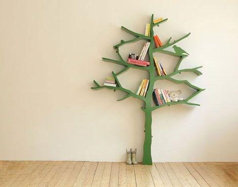 树形书架 环保从家居做起