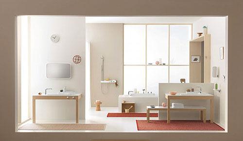 日式风情整体卫浴