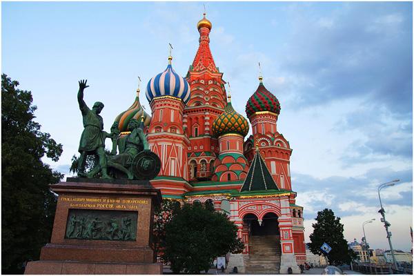 莫斯科红场游记