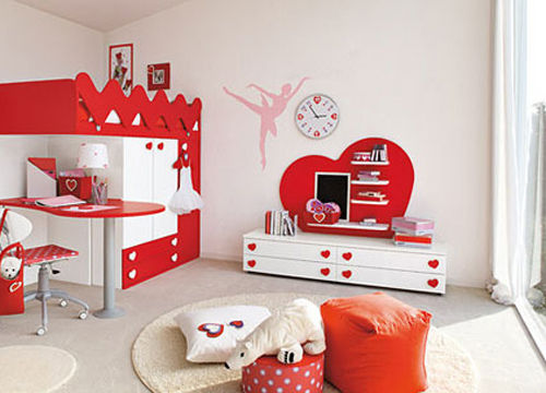 意大利复式儿童房家具