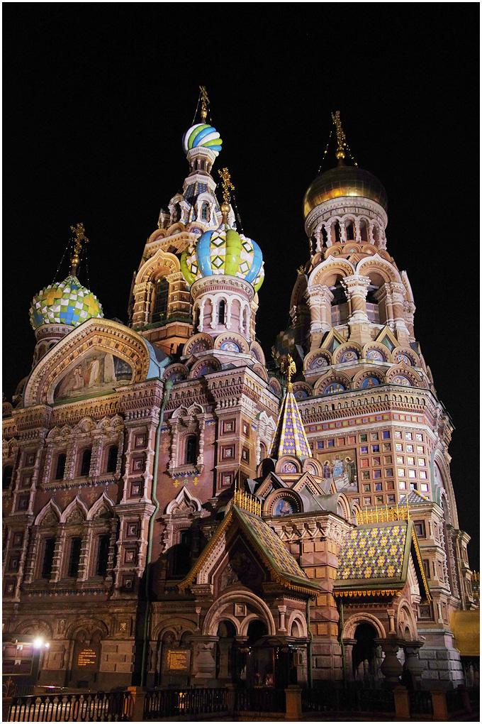 最美教堂—圣彼得堡滴血大教堂