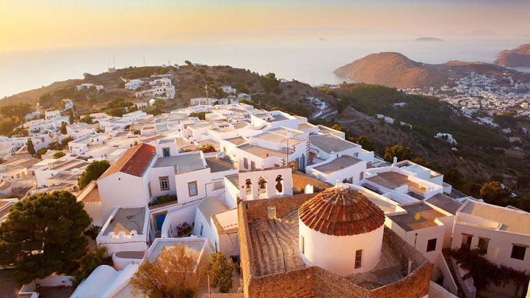 让心在希腊爱琴海来一次旅行