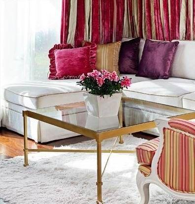 紫色打造家居浪漫氛围