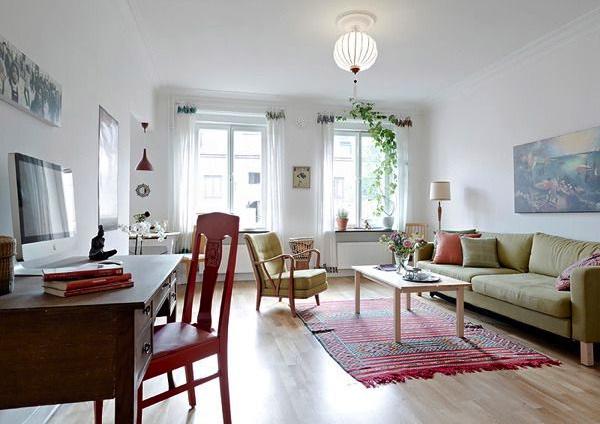 58平米的瑞典北欧简约公寓
