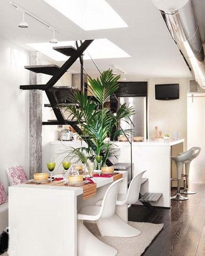 90平不规则复式家居设计 打造舒展优美的空间