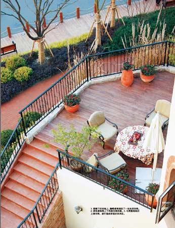 下沉庭院设计 功能分区    下沉式庭院的魅力是通过庭院与别墅底层