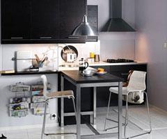 厨房装修 装出厨房里的小餐厅