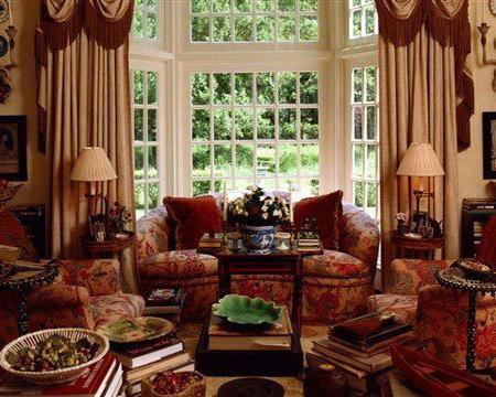 优美的柔和风格 欧式古典客厅