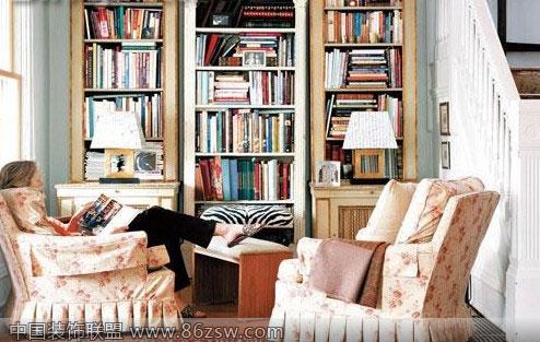 书房角落设计,体会书香气息