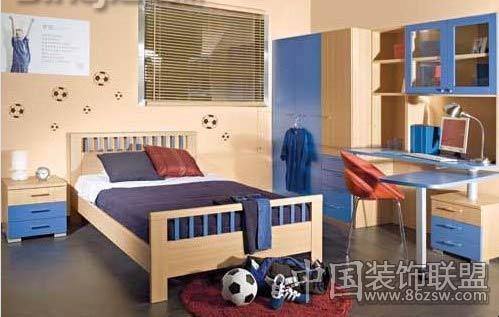 男孩子房间用   生活家居 装饰装修 问题页   比较常用的配色
