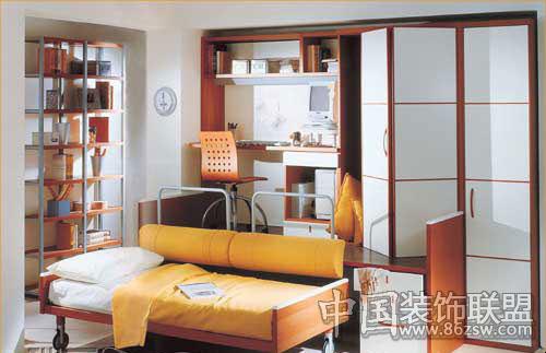 小户型卧室的多功能设计