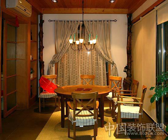 东南亚风情 巴巴娘惹餐厅风格-餐厅设计-八六(中国)(.