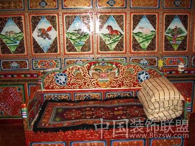神秘个性藏式家具 走进藏族文化图片